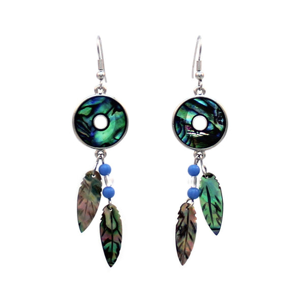 Shell Dream Catcher Earrings