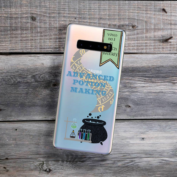potion book cover samsung galaxy case