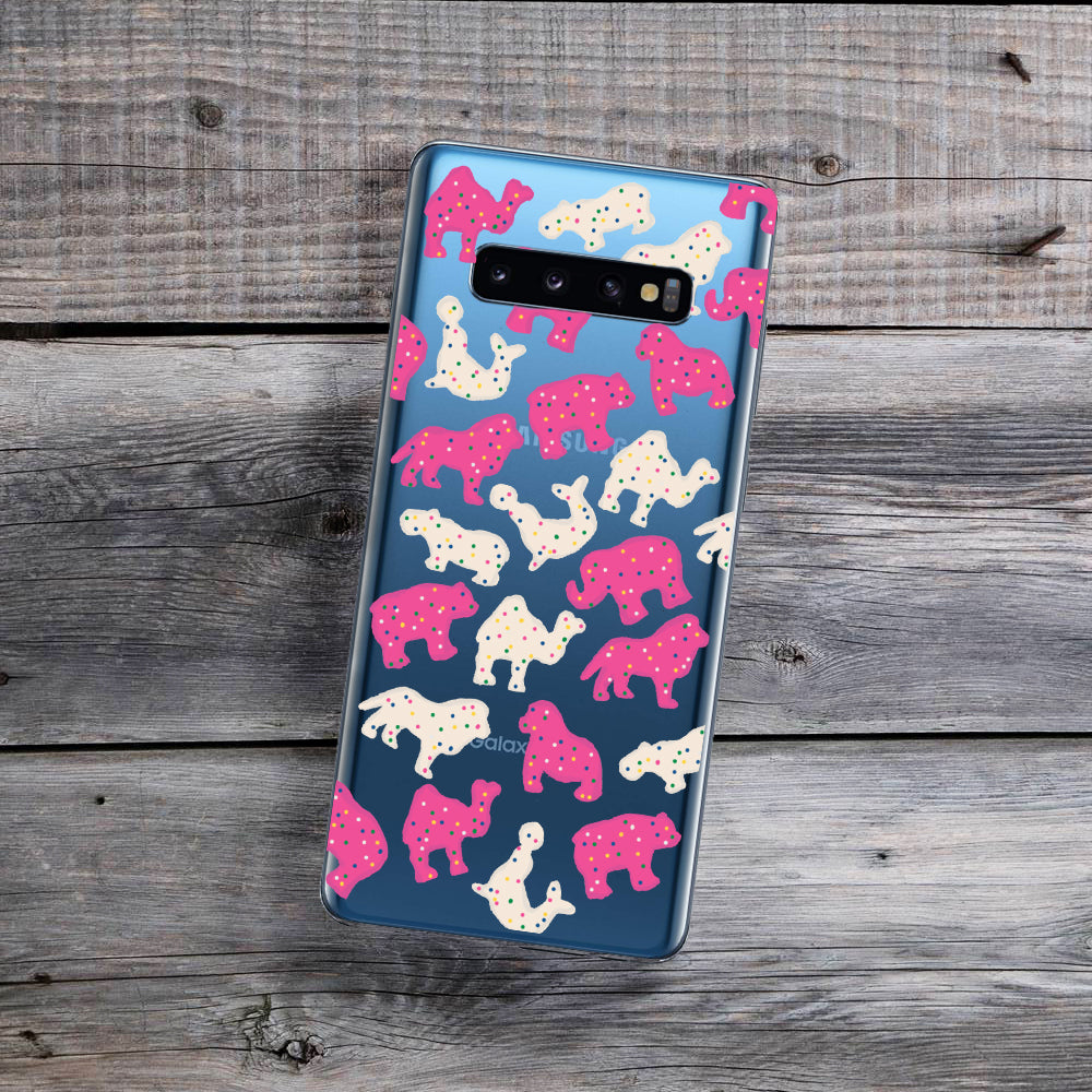 circus animal cookies samsung galaxy phone case