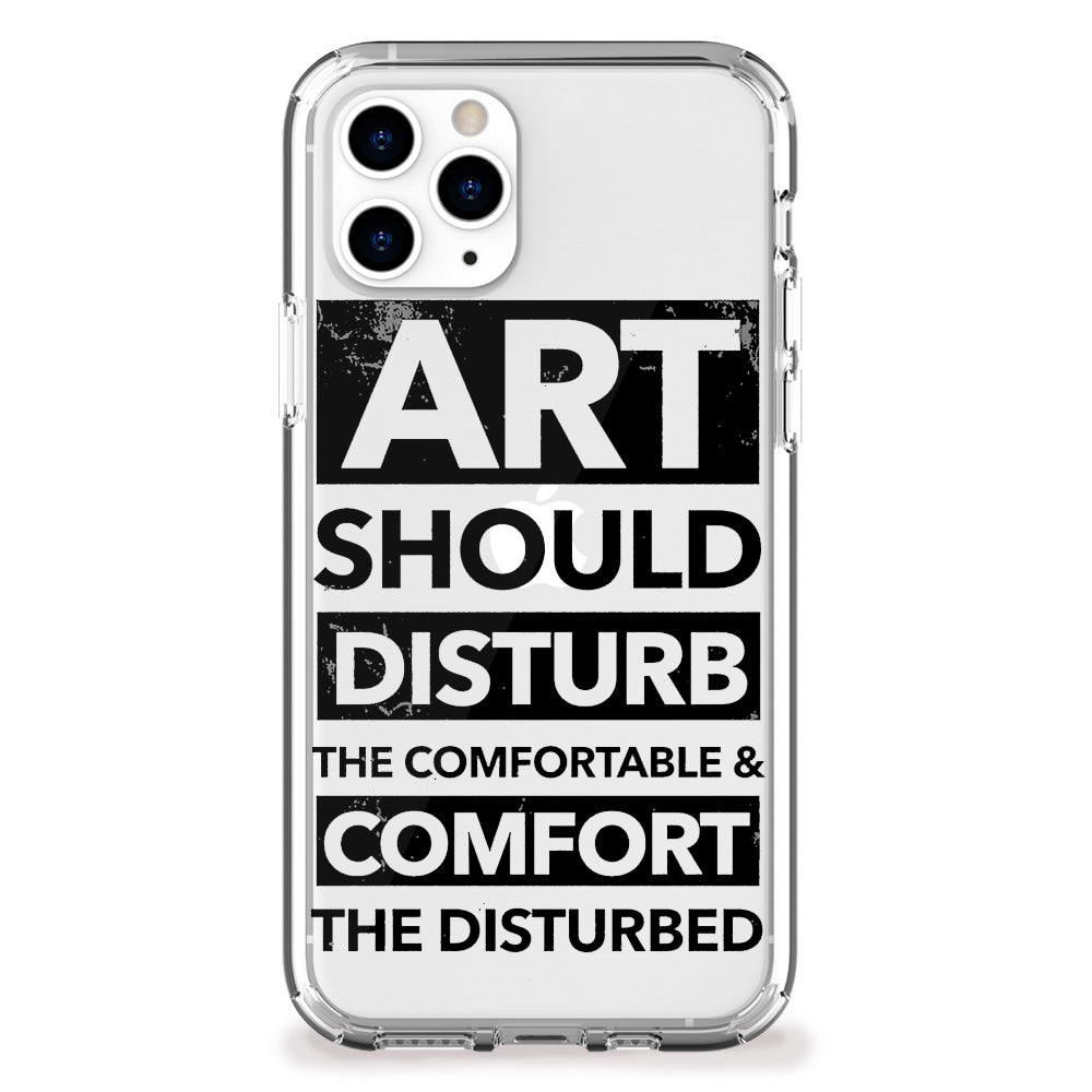 Art Disturbs iPhone Case