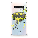 Bat Symbol Spray Paint Samsung Galaxy Case