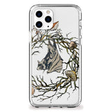 Autumn Bat with Fungi Wreath iPhone Case