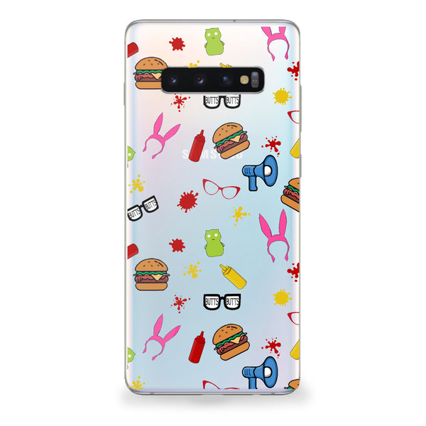 Burger Family Samsung Galaxy Case