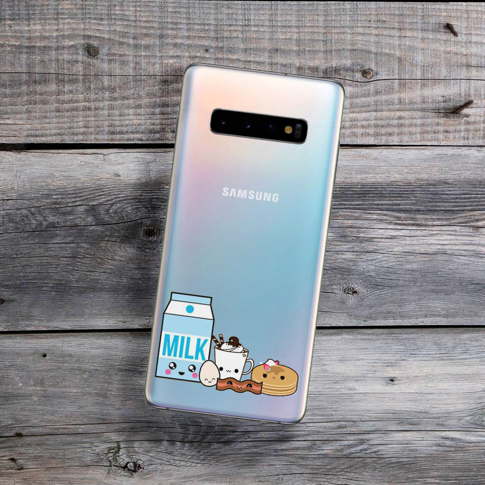 Kawaii Breakfast Samsung Galaxy Case