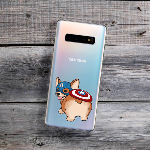 Captain Corgi Samsung Galaxy Case