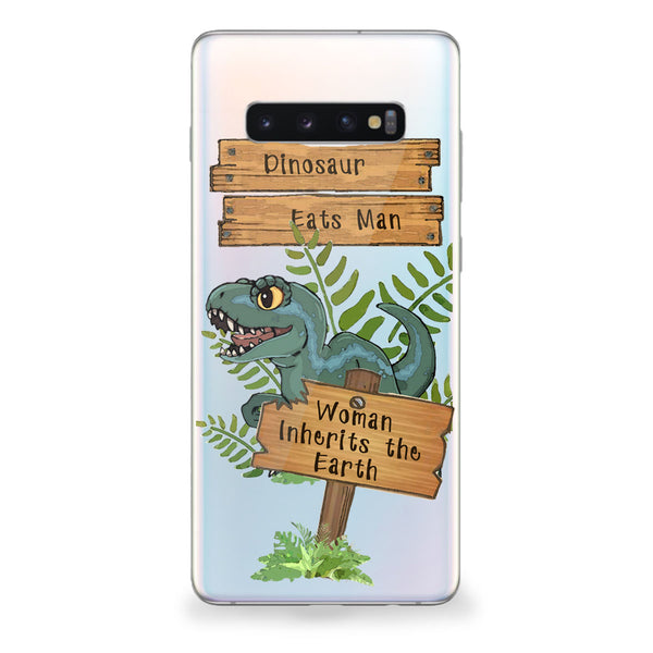 Dinosaur Eats Man Samsung Galaxy Case