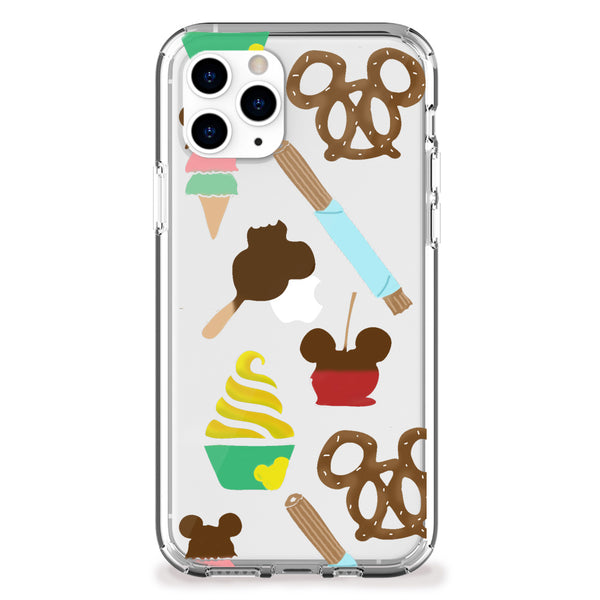 Theme Park Snacks iPhone Case