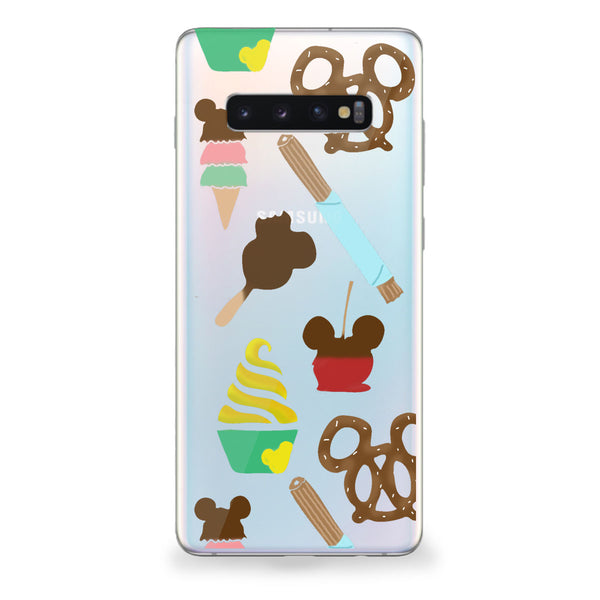 Theme Park Snacks Samsung Galaxy Case