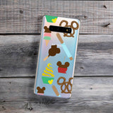 theme park mouse snacks phone case