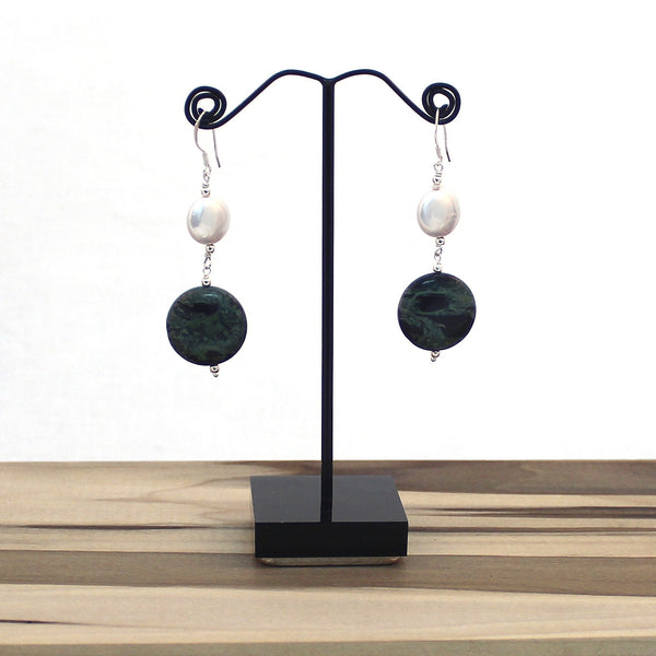 Lunar Eclipse Dangle Earrings