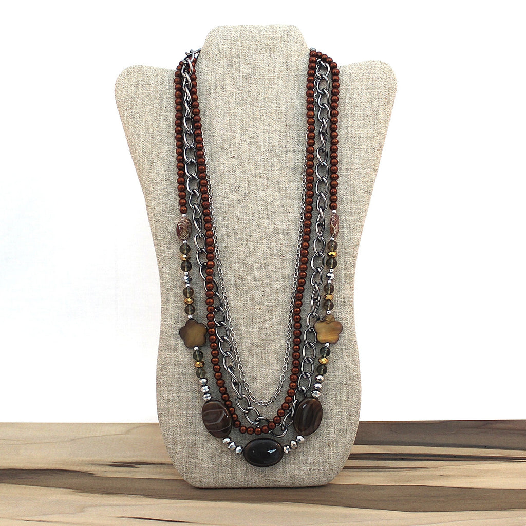 Layered necklace - Java