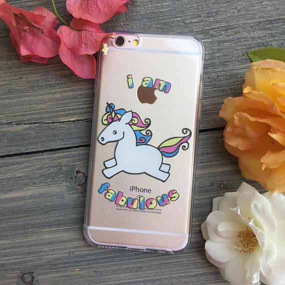 Fabulous Unicorn iPhone Case