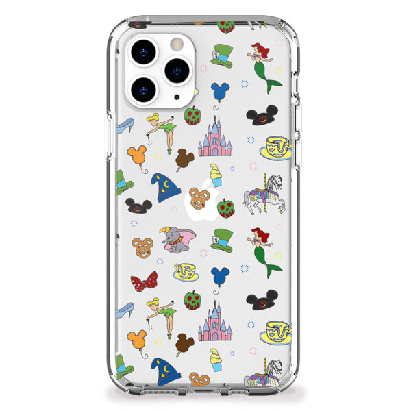 Fantasyland Pattern iPhone Case