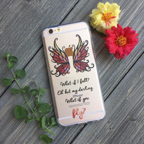 iPhone What If You Fly? Case