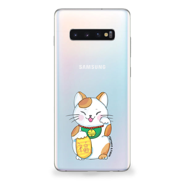 Fortune Cat Samsung Galaxy Case