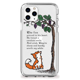 Fox and Sour Grapes iPhone Case