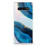 Blue Geode Samsung Galaxy Case