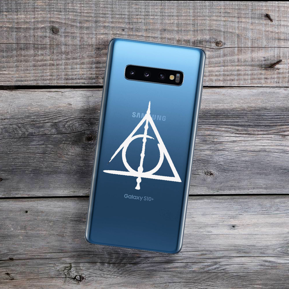 Deathly Hallows (White) Samsung Galaxy Case