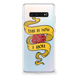 How I Roll Samsung Galaxy Case (Yellow)