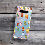 japanese snacks pattern samsung case