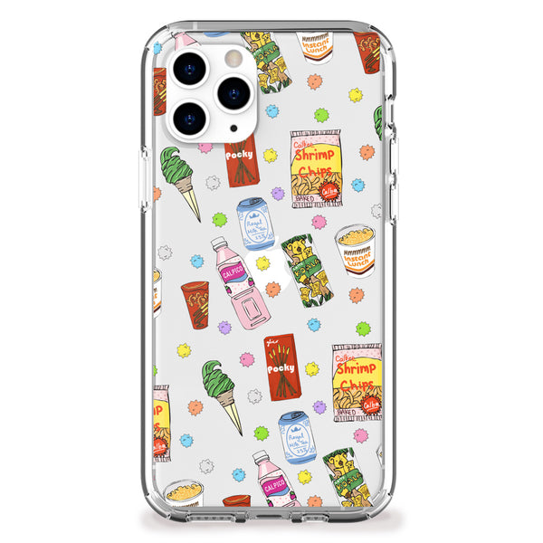 Japanese Snacks iPhone Case