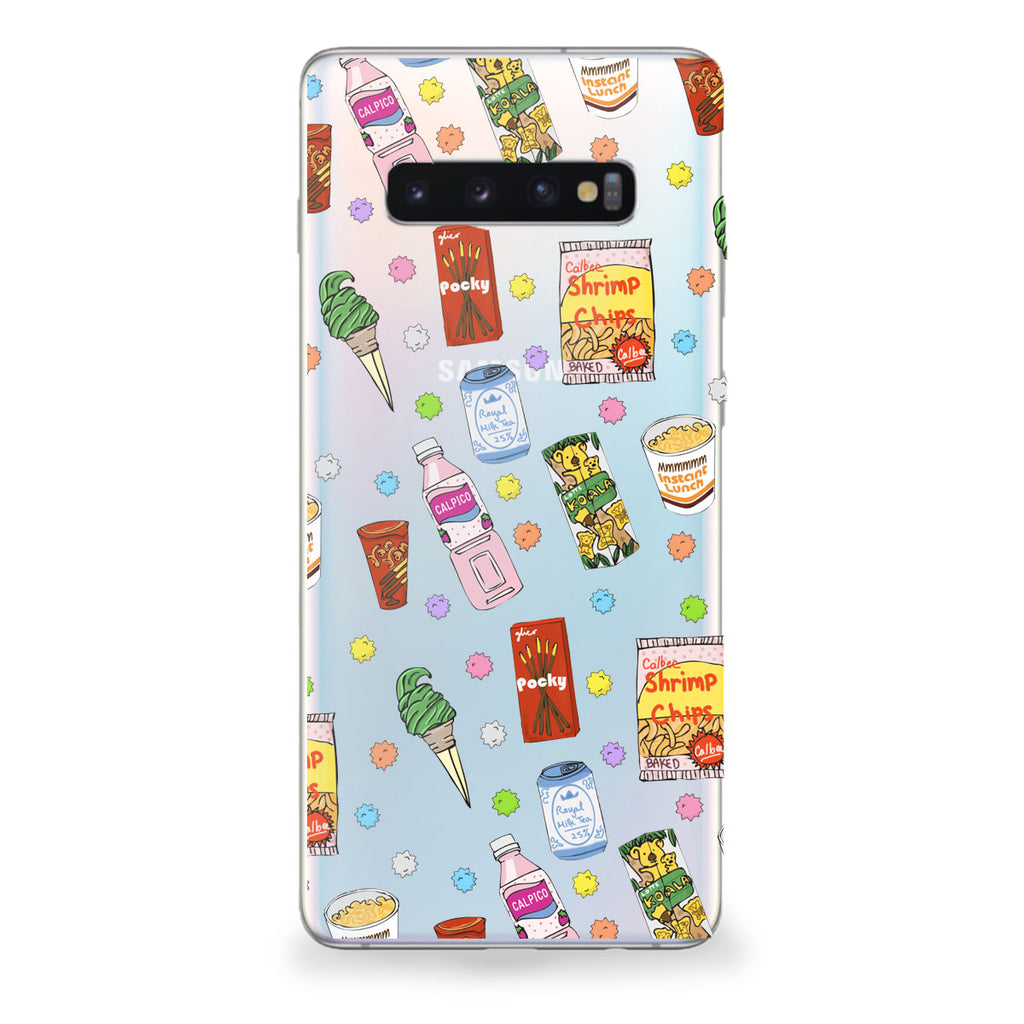 Japanese Snacks Samsung Galaxy Case