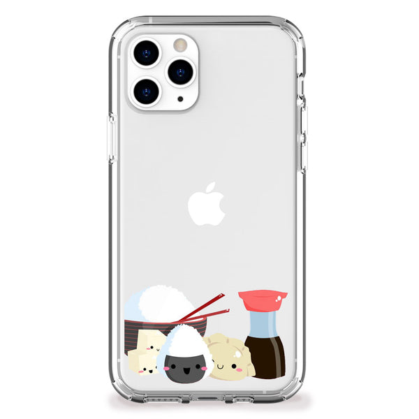 Kawaii Rice and Tofu Case iPhone Case