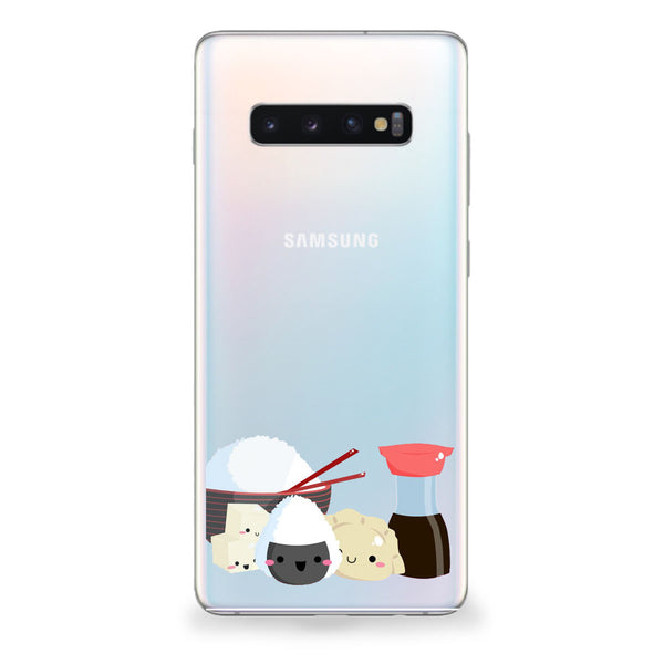 Kawaii Rice and Dumplings Samsung Galaxy Case