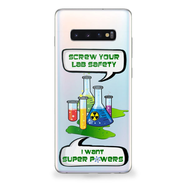 Lab Safety Samsung Galaxy Case