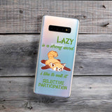 Lazy Red Panda Samsung Galaxy Case