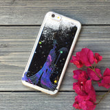 Sorceress Black Glitter iPhone Case