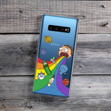 Rainbow Puke Samsung Galaxy Case