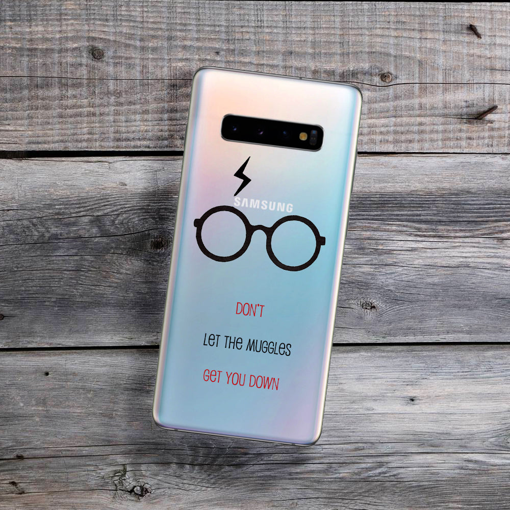 Don't Let the Muggles Get You Down Samsung Galaxy Case