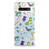 New Orleans Pattern Samsung Galaxy Case