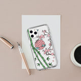 Hanafuda Cherry Blossoms iPhone Case