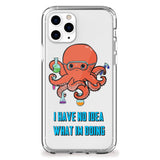 Octopus Scientist iPhone Case
