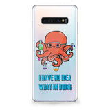 Octopus Scientist Samsung Galaxy Case