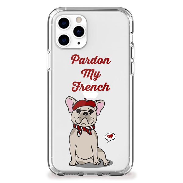Pardon My French iPhone Case