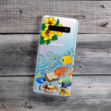 tropical fish samsung phone case