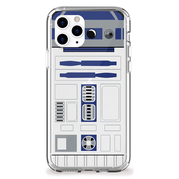 Blue Droid iPhone Case