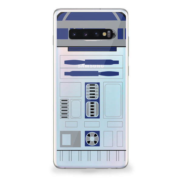 Blue Droid Samsung Galaxy Case