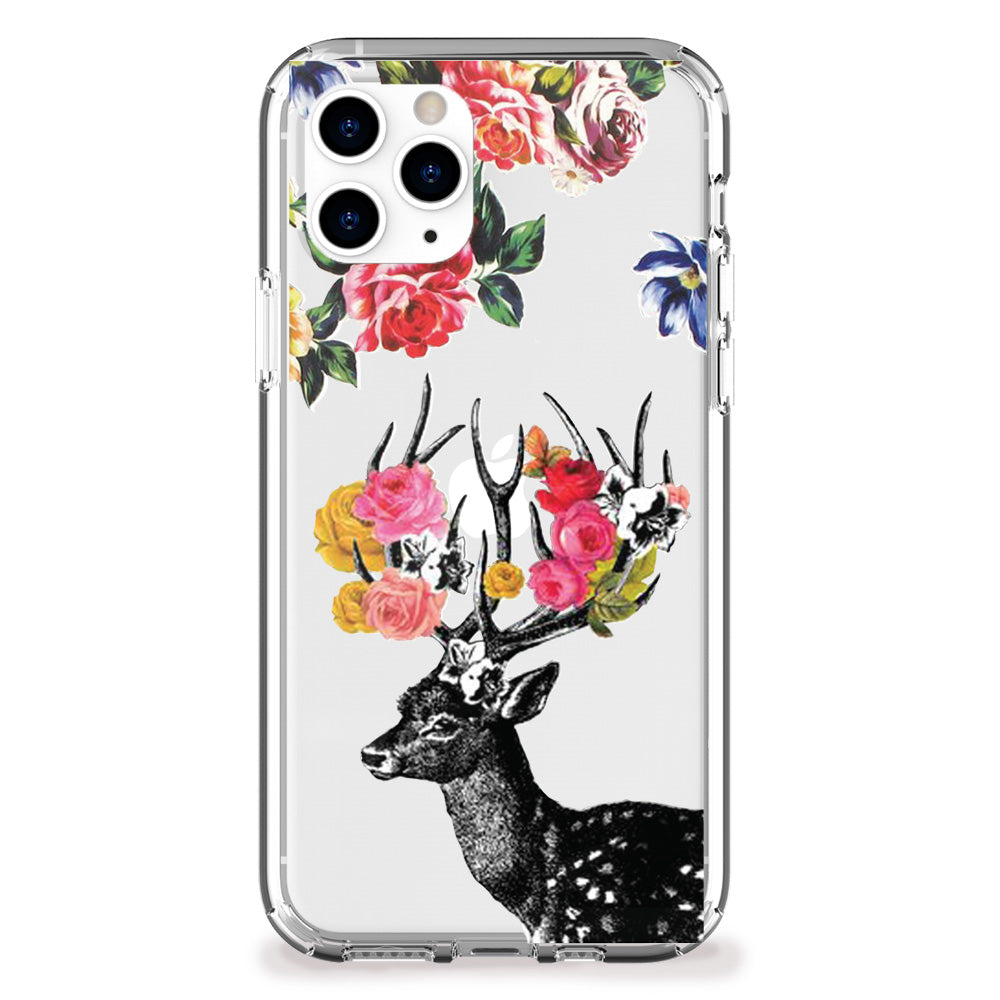 Springtime Stag iPhone Case