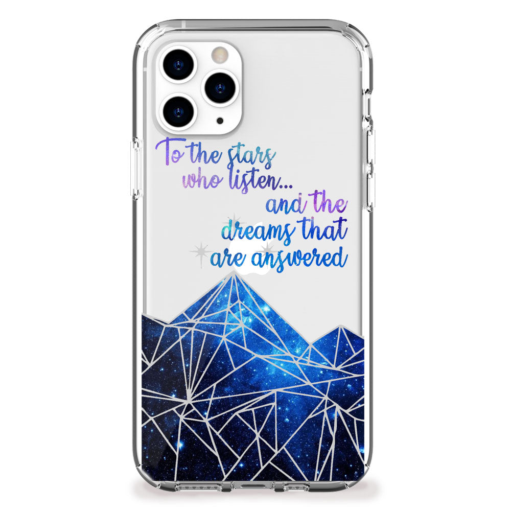 The Stars Who Listen iPhone Case