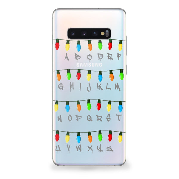 Stranger Christmas Lights Samsung Galaxy Case