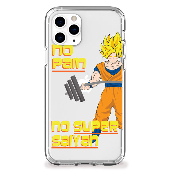 Training to be a Super Saiyan iPhone Case