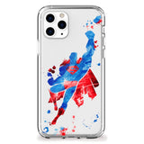 Man of Steel Spray Paint iPhone Case