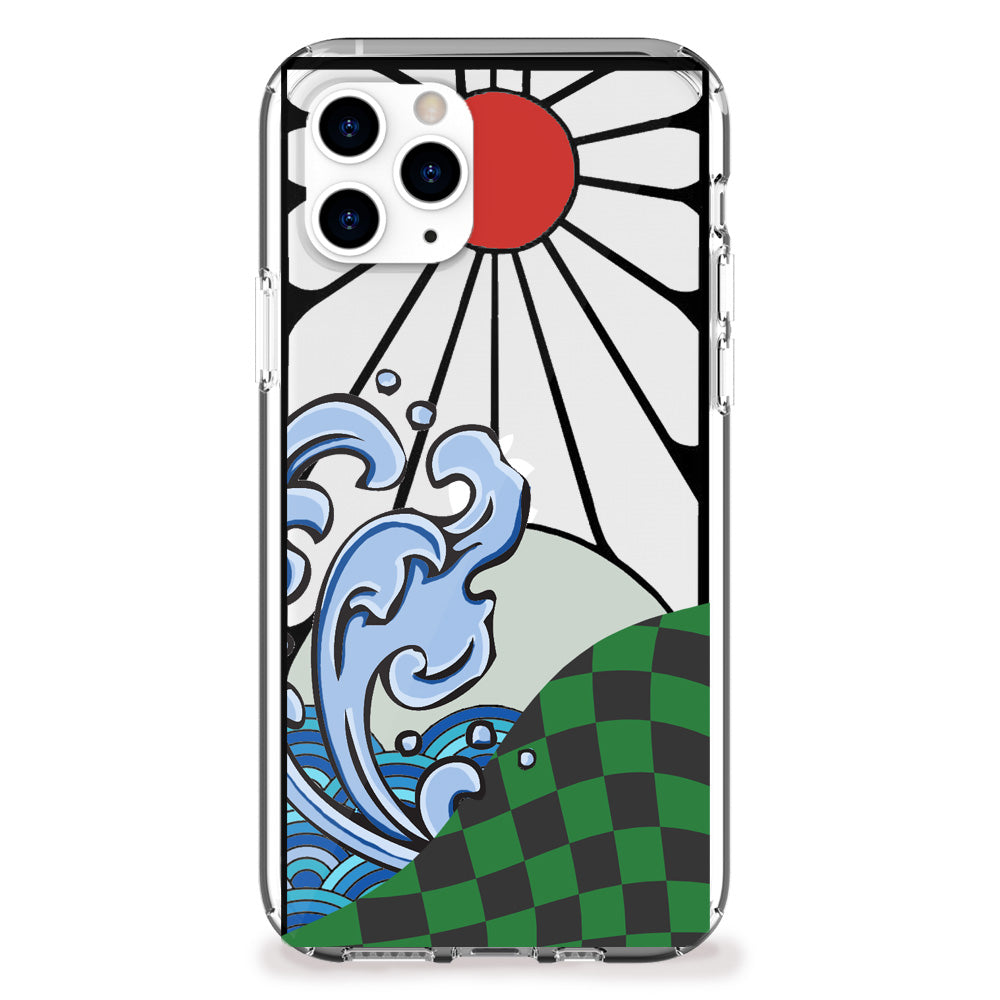 Water Breathing Style iPhone Case
