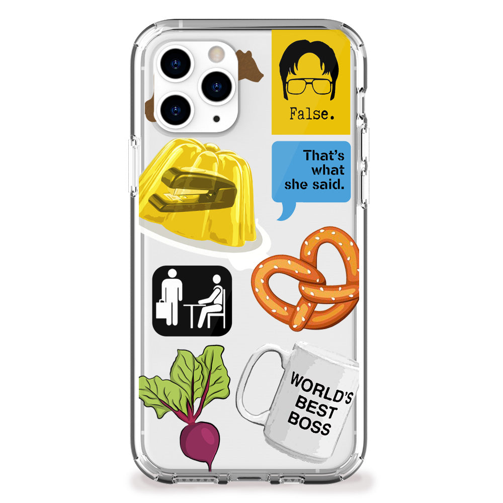 Office Work iPhone Case