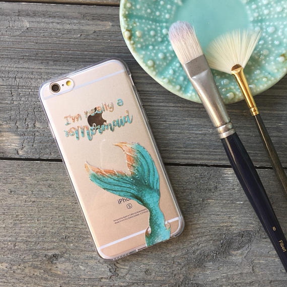 I'm Really a Mermaid iPhone Case