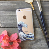 japanese great wave phone case